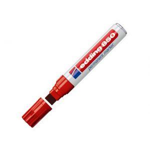 Marker EDDING 850 rød (5-15mm)