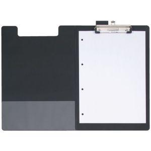 Clipboard STAPLES med omslag sort