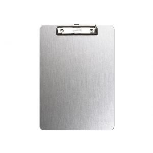 Clipboard STAPLES A4 enkel - Børstet aluminium