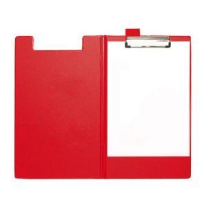 Clipboard STAPLES A4 med omslag rød
