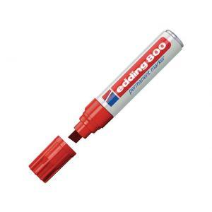 Marker EDDING 800 rød (4-12mm)