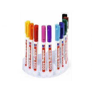 Marker EDDING 400 sæt med 10 farver (1mm)