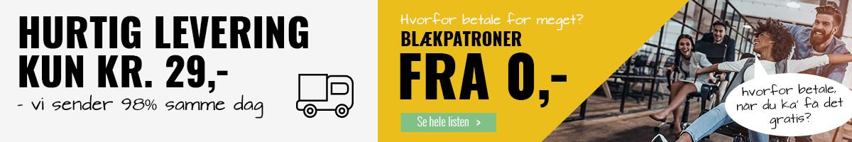 BLÆKPATRON FRA 0 KRONER