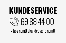 KUNDESERVICE – RING 69 88 44 00