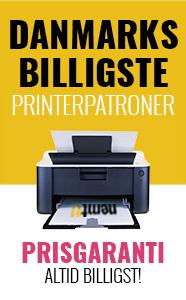 Danmarks billigste printerpatroner