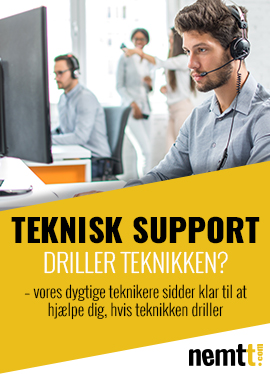 TEKNISK SUPPORT
